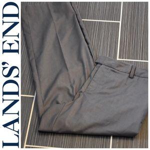 Lands' End Grey Pants Size 16